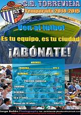 Cartel Abonos 2014-2015