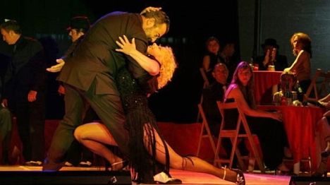 VÍDEO: Bailando el tango