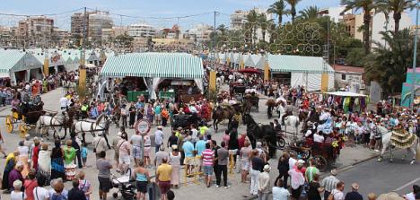 Feria de Mayo de Torrevieja (Archivo O-T.)