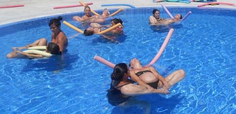 Ejercicios de natación para embarazadas