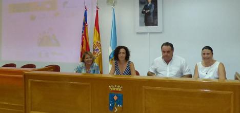 Foto retrospectiva del acto de pressentación del Banco de Libros de la FAPA