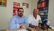 Sáez y Buyolo ayer en rueda de prensa