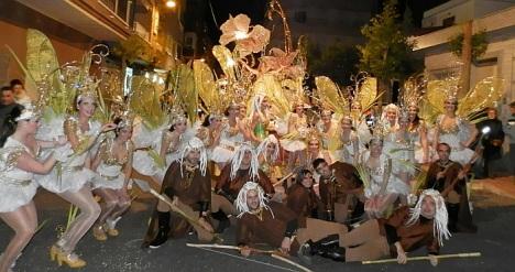 Las comparsas de Carnaval, tendran especial protagonismo en el desfile