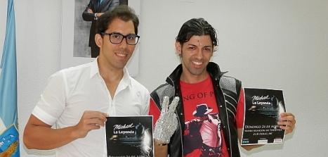 Luis María Pizana y Domingo Sánchez ayer tras la rueda de prensa