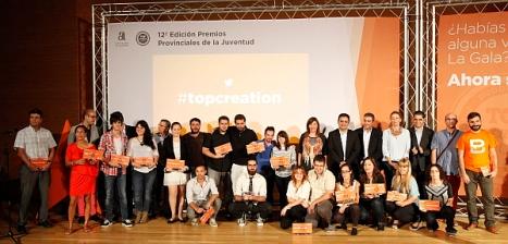 Premiados Gala de la Juventud 2013