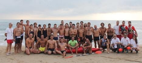 Los participantes en pasado año posan para Objetivo Torrevieja
