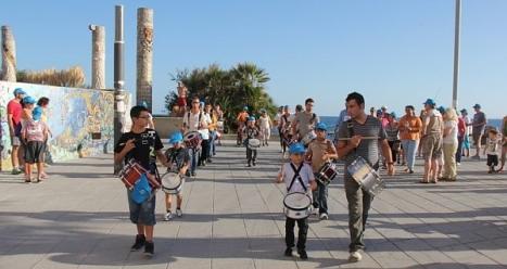 Las Columnas de las culturas del Medirteráneo será el punto de llegada de la Marcha