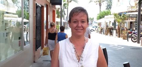 Caridad Salmerón, presidenta de Apymeco