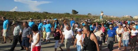 La Romería a Lo Albentosa, uno de los actos centrales de las fiestas