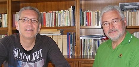 José Hurtado y J.Manuel Dolón de Los Verdes