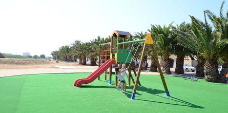 Una de las zonas de recreo del Parque Ilo-Ilo