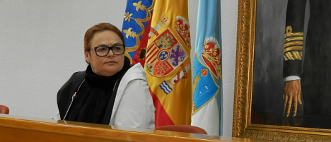 Carmen Gómez. concejal de