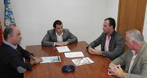 Reunión del Alcalde con concejales y técnicos