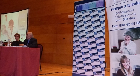 Momento de la presentación del proyecto en el Palacio de la Música de Torrevieja