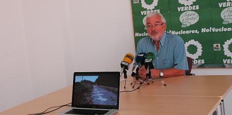 J.Manuel Dolón muestra un video de la rambla