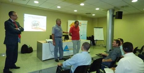 Conferencia impartida en Procosta (Archivo O.T.)