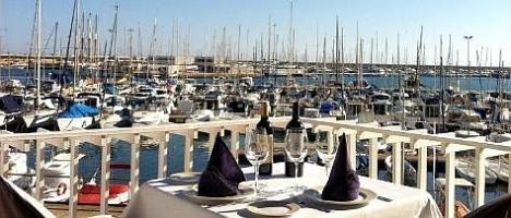 """Terraza del Restaurante """"El Puerto"""""""