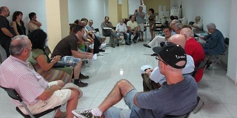 "Reunión de ""Ganemos"" en Torrevieja"
