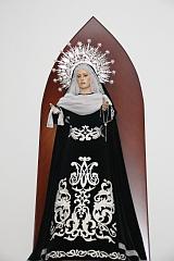 Ntra. Sra. de la Esperanza y la Paz de luto