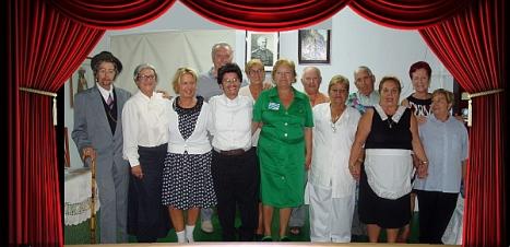 "Grupo de teatro ""Candilejas"""