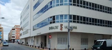 Palacio de Justicia, donde esta ubicado el Registro Civil