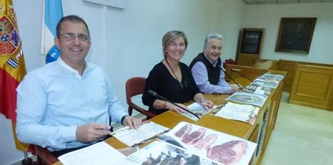 Momento de la presentación de la Jornada Gastronómica