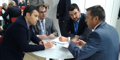Joaquín Albaladejo reunido con directivos de