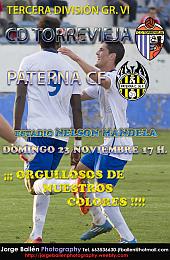 Cartel Torrevieja - Paterna