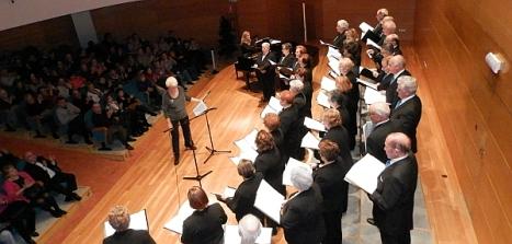 Coral Nuevo Amanecer en el Palacio de la Música