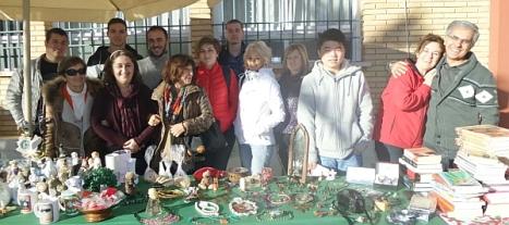Participantes en el Mercadillo