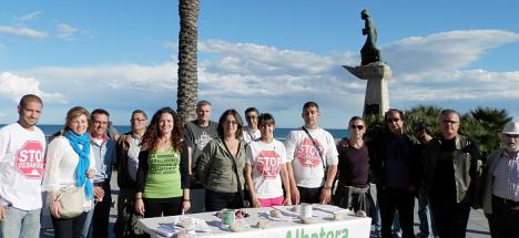 Mesa Informativa Stop Desahucios (Archivo)