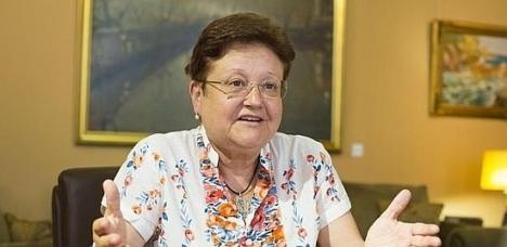 Luisa Pastor, presidenta de la Diputación Provincial