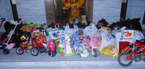 1.recojida solidaria de juguetes