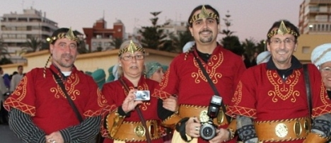 "Miembros de ""Objetivo Torrevieja"", que pregonarán el Caranaval 2015"
