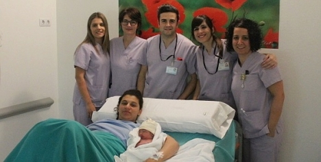 Primer niño nacido en Torrevieja en 2015