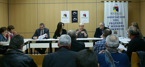 Reunión de Apymeco con los políticos