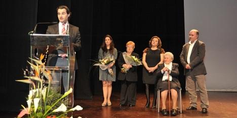 Foto Archivo del acto de entrega galardones Año 2013