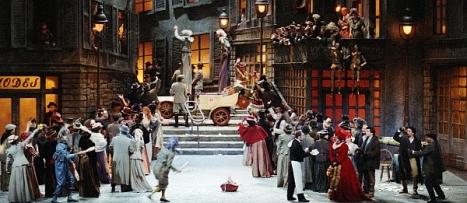 """Escena de la Ópera """"La Boheme"""""""