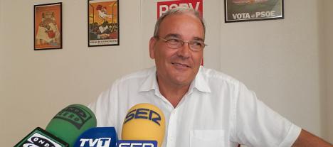 Ángel Sáez, candidato a la alcaldía (Archivo)
