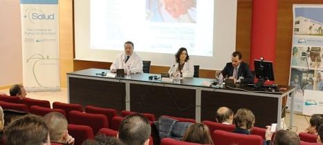 Curso en el Salón de actos del Hospital Universitario de Torrevieja
