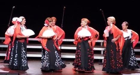 Grupo de la Tercera Edad en una actuación (Archivo)