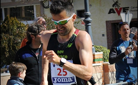 El atleta torrevejense, Luis Manuel Corchete