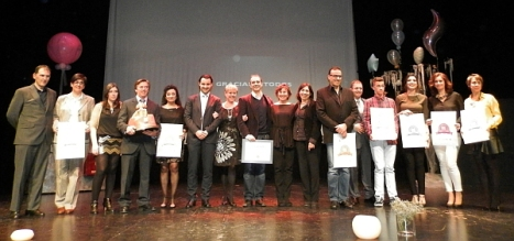 "Foto de ""Familia"" Gala del Comercio 2014"