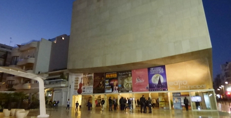 Exterior del Teatro Municipal
