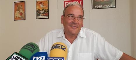 Ángel Sáez, candidato socialista