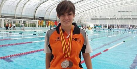 Pati, nadadora del CliubI+más