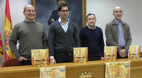 De Izda. a Dcha. Mario Bustillo; Luis María Pizana; José F. Sánchez y Pelayo Mellado