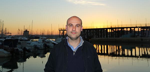 Pablo Samper, concejal de deportes y Juventud (S.T.)