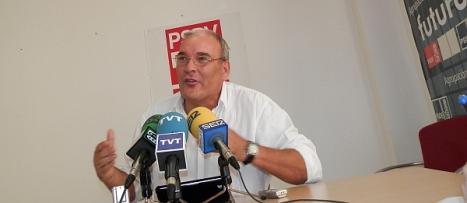 Ángel Sáez, portavoz del GMS