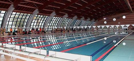 Piscina cubierta del Palacio de los Deportes